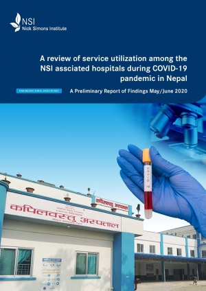 A review of NSI associated hospitals' service utilization during the COVID-19 pandemic in Nepal