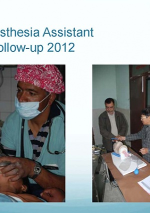 Anesthesia Assistant Follow-up 2012