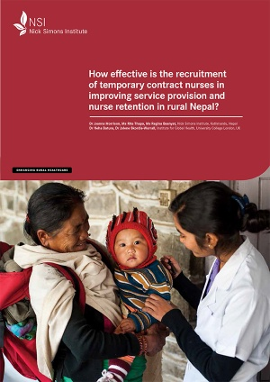 How effective is the recruitment of temporary contract nurses in improving service provision and nurse retention in rural Nepal?