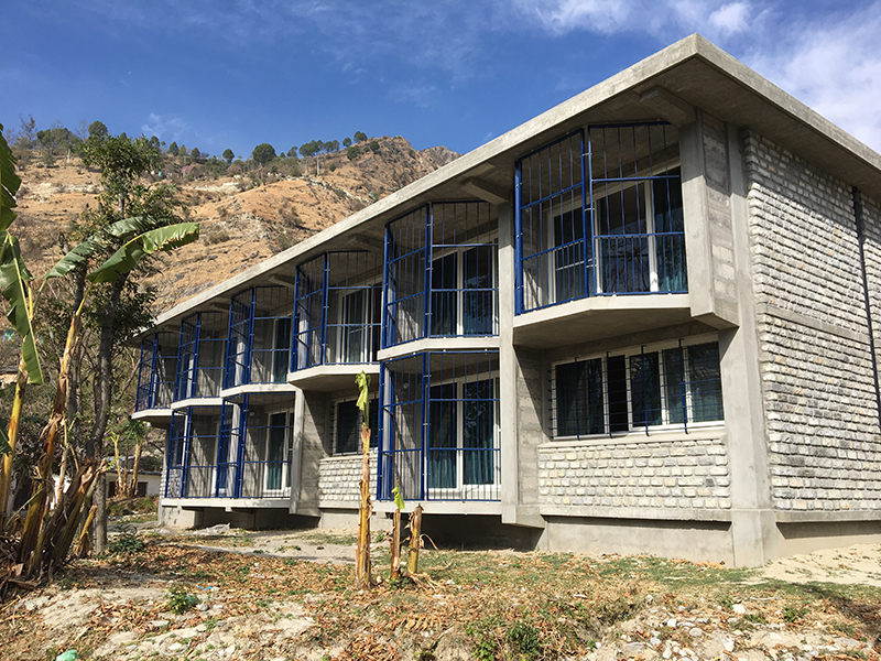 Bajhang Staff Quarters side view